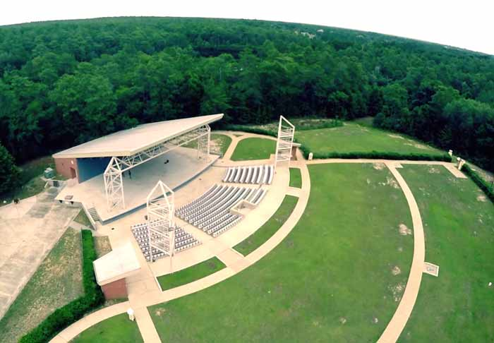 The NWF State College Amphitheater,