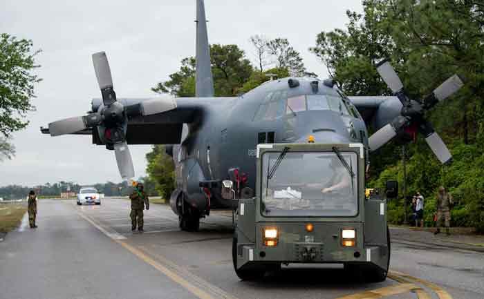 hurlburt field AC-130U tow