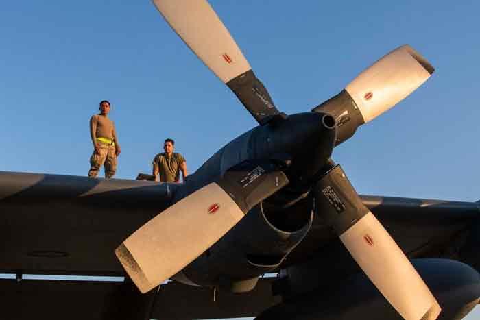 maintaining MC-130H Combat Talon IIs Hurlburt Field