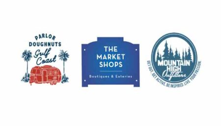 the market shops at Sandestin - parlor doughnuts, mountain high outfitters
