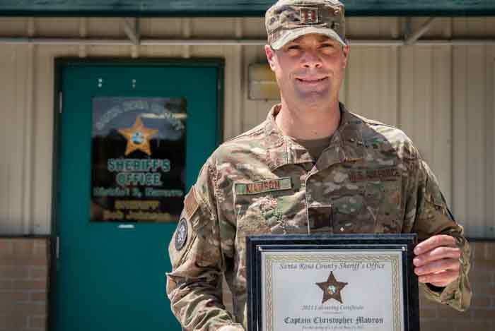 Capt. Chris Mavron eglin air force base