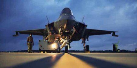 eglin air force base F-35 night operations