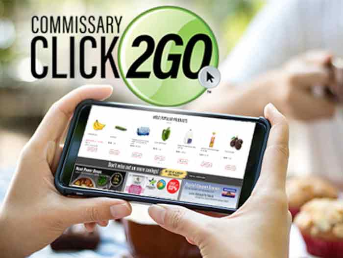 eglin air force base commissary Click2go delivery service