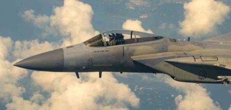 eglin air force base f-15 Jet 025 final flight