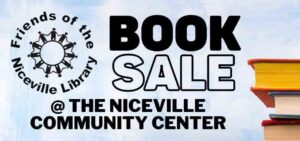 niceville library book sale