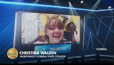 Christina Walden northwest florida state college skillsusa