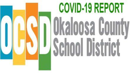 okaloosa county schools coronavirus covid report