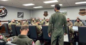 505th Command and Control Wing Agile Combat Employment command and control training