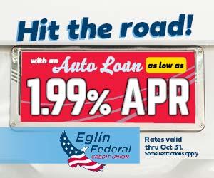 Eglin Federal Credit Union auto loans