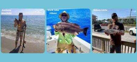florida saltwater fishing records whiting, scamp, schoolmaster