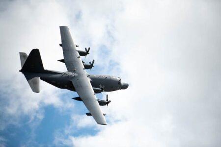 MC-130H Combat Talon II Aircraft return from deployment Hurlburt Field, Florida