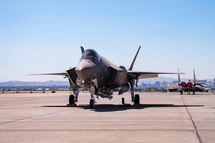 F-35A Lighting II Full Weapon System Demonstration Nellis Air Force Base
