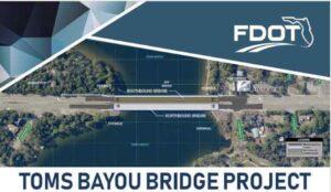 Tom's Bayou Bridge project Valparaiso Niceville FDOT