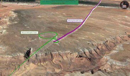 Civil Air Patrol volunteer National Radar Analysis Team locates crash site